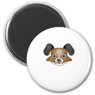 Papillon Dog Breed - My Dog Oasis 6 Cm Round Magnet