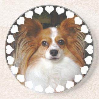 Papillon Dog Coasters