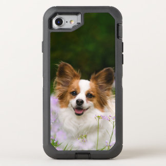 Papillon Dog Cute Romantic Photo - Phoneprotect OtterBox Defender iPhone 7 Case