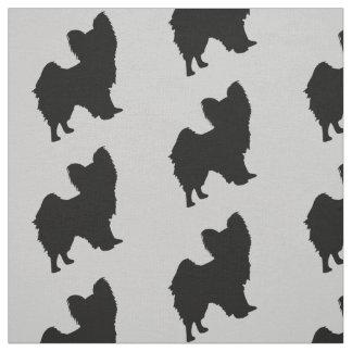Papillon Dog Fabric