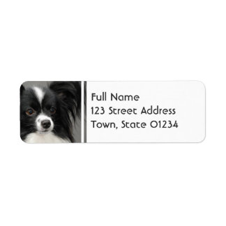 Papillon Dog Mailing Labels