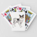 Papillon Dog Playing Cards