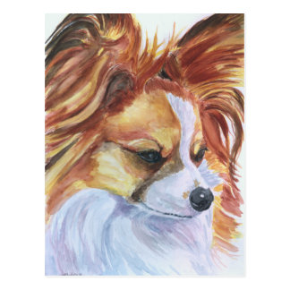 Papillon Dog Postcards