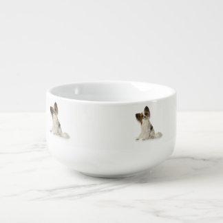 Papillon Dog Soup Mug
