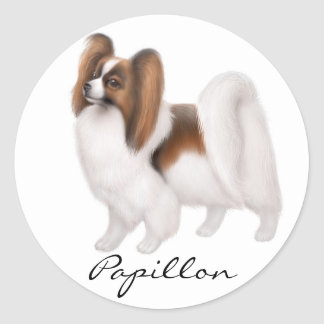 Papillon Dog Sticker