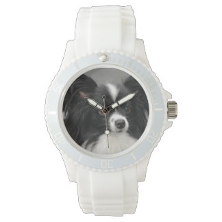 Papillon Dogs Wristwatch
