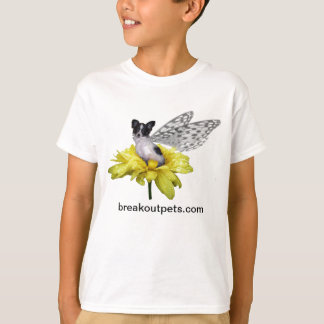 Papillon Fairy Dog Kids T-Shirt