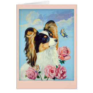 Papillon Greeting Cards