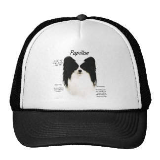 Papillon History Design Hats