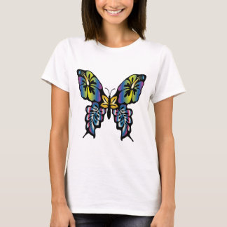 Papillon Ladies Butterfly design. T-Shirt