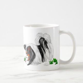 Papillon Lady Bug Dreams Coffee Mug