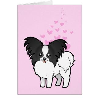 Papillon Love Card