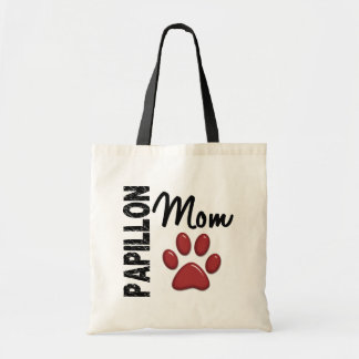 Papillon Mom 2 Budget Tote Bag