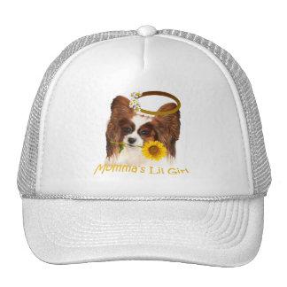Papillon Momm'a Girl Gifts Trucker Hat