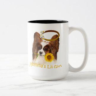 Papillon Momm'a Girl Gifts Mug