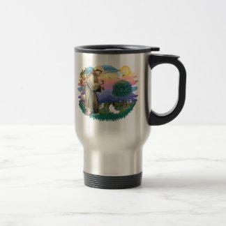 Papillon 15 Oz Stainless Steel Travel Mug