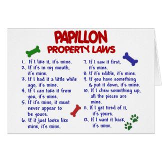 PAPILLON Property Laws 2 Card