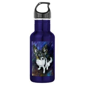 Papillon puppy 532 ml water bottle