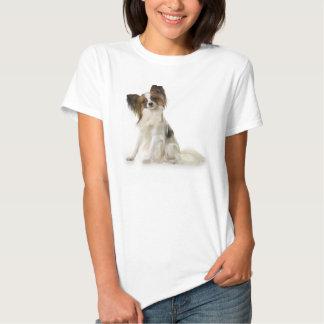 Papillon Puppy interrogative T Shirt