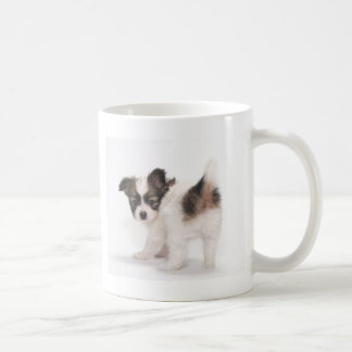 Papillon Puppy Coffee Mugs