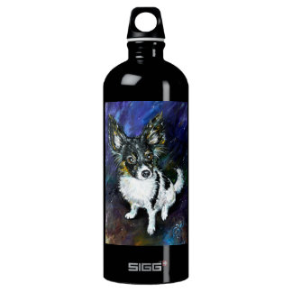 Papillon puppy SIGG traveler 1.0L water bottle