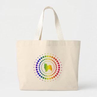 Papillon Rainbow Studs Tote Bag
