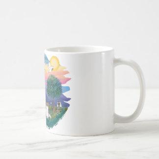 Papillon sable-white mugs