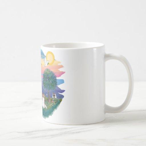 Papillon (sable-white) coffee mugs