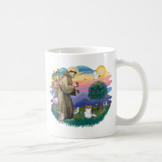 Papillon (sable-white) basic white mug