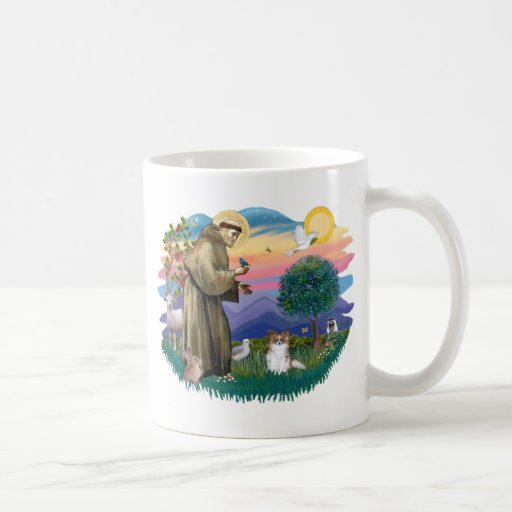 Papillon (sable-white) mug