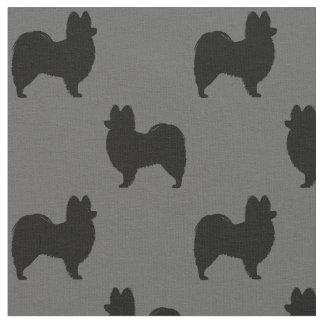 Papillon Silhouettes Pattern Fabric