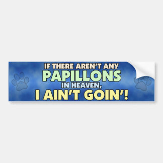Papillons in Heaven Bumper Sticker