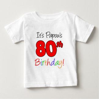 Papou's 80th Birthday T-shirts