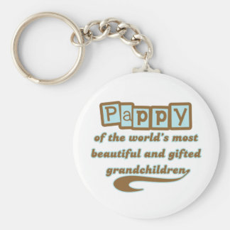 Pappy of Gifted Grandchildren Key Ring