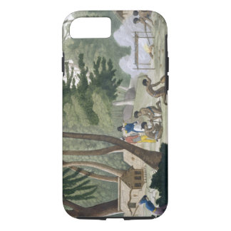 Papu tribe on the Isle of Rawak, plate 20 from 'Le iPhone 8/7 Case