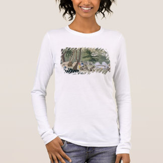 Papu tribe on the Isle of Rawak, plate 20 from 'Le Long Sleeve T-Shirt