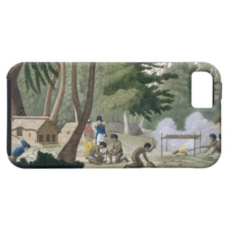 Papu tribe on the Isle of Rawak, plate 20 from 'Le Tough iPhone 5 Case