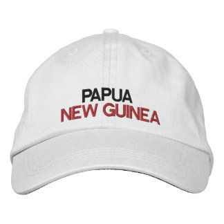 Papua New Guinea* Adjustable Hat Embroidered Baseball Caps