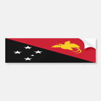 Papua New Guinea Bumper Sticker
