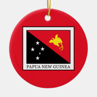 Papua New Guinea Christmas Ornament