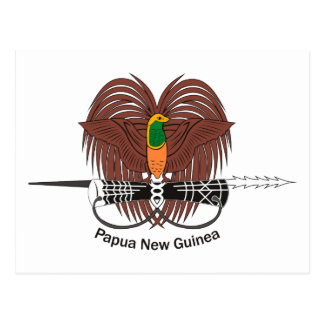 Papua New Guinea Coat of Arms Postcard