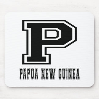 Papua New Guinea Designs Mouse Pad