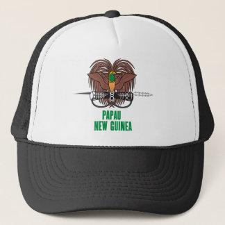 PAPUA NEW GUINEA - emblem/flag/coat of arms/symbol Trucker Hat