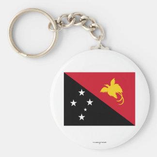 Papua New Guinea Flag Key Chain
