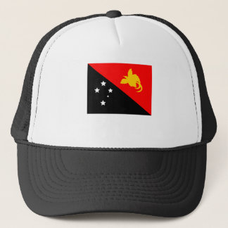 Papua New Guinea Flag Trucker Hat