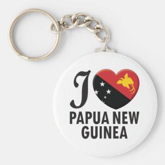 Papua New Guinea Love Key Ring