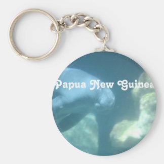 Papua New Guinea Manatee Keychains