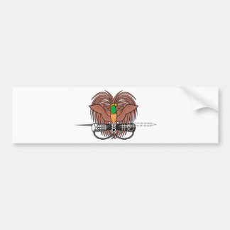 Papua New Guinea National Emblem Bumper Sticker