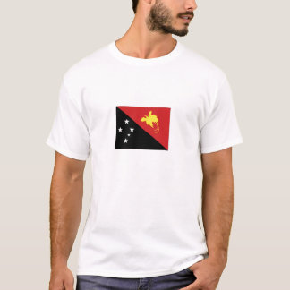 Papua New Guinea National Flag T-Shirt