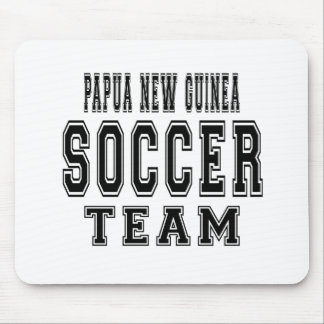 Papua New Guinea Soccer Team Mouse Pad